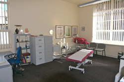 view of a treatment room